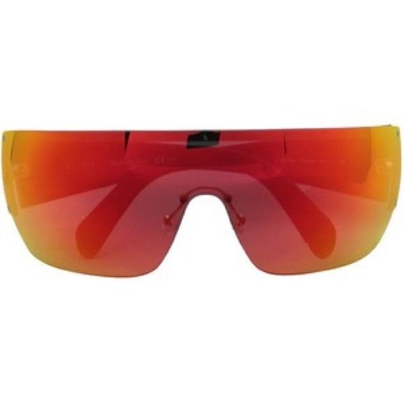 ad2c2163d6 Celine Accessories - Authentic Celine Orange Mirror Mask Sunglasses